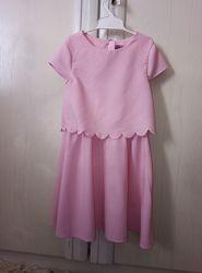 Розовое платье F&F