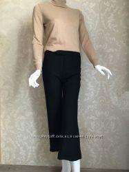 Marni оригинал Италия черные шерстяные брюки кюлоты Размер 38 S