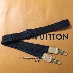 Louis Vuitton наплечный ремень кожа текстиль