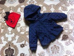 Деми куртка GAP с шапочкой , на 3-4 года