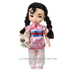 Кукла малышка Мулан с песиком, Disney Animators Collection Mulan Doll