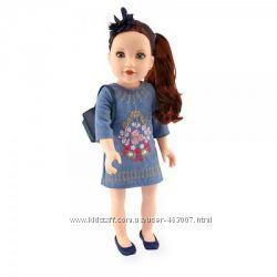Очень красивая кукла Келси путешественница, 46см