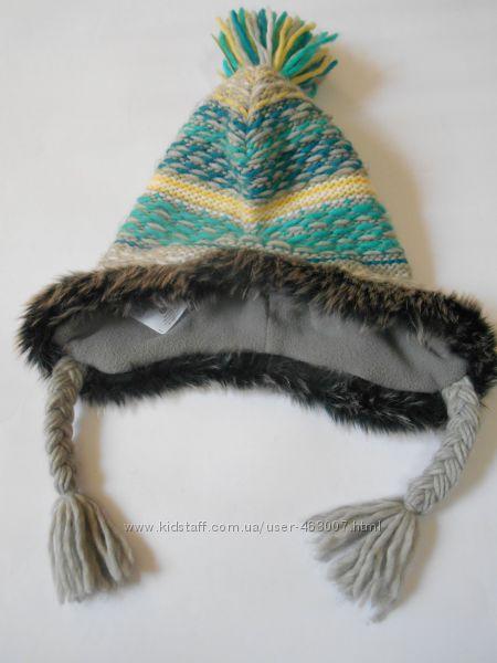 Оригинальная шапочка подростку, теплая