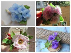 Мастер-классы в Днепре по созданию украшений с цветами из полимерных глин
