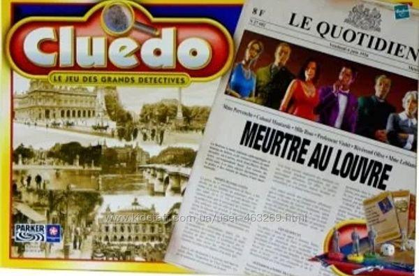 Игра детектив Клюедо Hasbro Убийство в Лувре