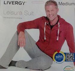 Спортивный хлопковый костюм Livergy
