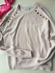 Пудровый свитер Marks Spencer