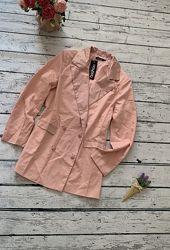 Розовый пиджак Boohoo