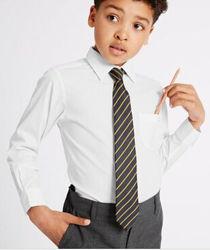 Белая Школьная рубашка Marks&Spencer