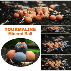 Природные минеральные шарики Турмалин
