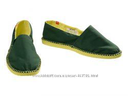 HAVAIANAS Двухцветные зелено-желтые эспадрильи