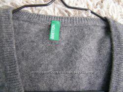 Benetton джемпер S-размер 100 lana wool