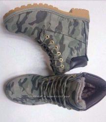 Ботинки, унисекс, 40 размер