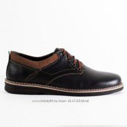 Мужские туфли классика Кожа, 42 размер
