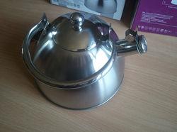 Индукционный чайник 3 литра со свистком, новый екологичний та стильний пода