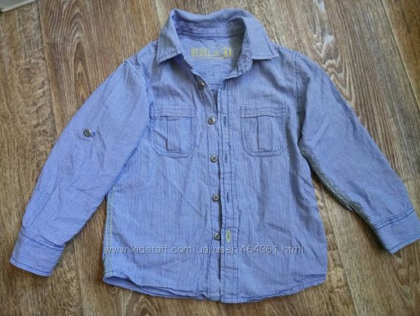 Стильная рубашка от Rebel 95-104