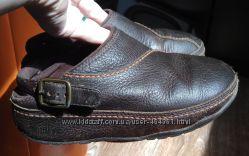Сабо кожаные FitFlop 18-18, 5см