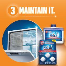 Таблетки для посудомойки Finish Classik 100 шт, All in 1 Max  80 шт.