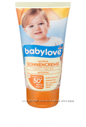Babylove Sonnencreme Sensitiv LSF 50 Солнцезащитный крем для детей 75 мл