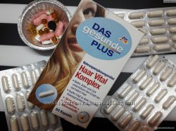 Das Gesunde Plus Haar Vital комплекс для укрепления волос 60 капсул