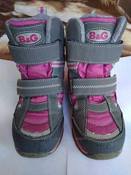 Продам зимние ботиночки фирмы B&G termo 29 р.