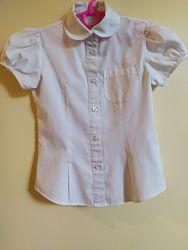 Блузка  школьная Debenhams для девочки 6 лет