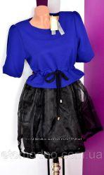 Платье новой гипюр
