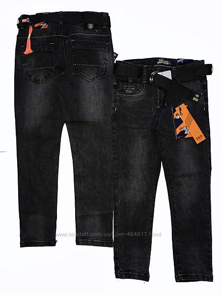 Стильные черные джинсы для подростков 6,12