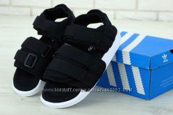 Сандалии женские Adidas Adilette Sandal BlackWhite Адидас Адилетте