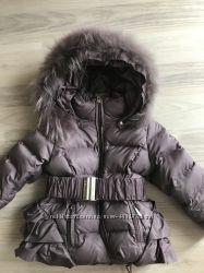 Зимняя пуховая куртка Bellini Италия 2-3 года. Идеальное состояние
