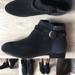 Стильные , удобные ботинки 36, 37, 38, 39, 40 Lazzeri Италия. Натуральная замша