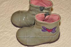 Лаковые ботинки для девочки 20 размер Garvalin