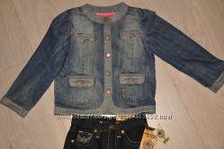 Комплект куртка и джинсы для девочки 3-4 лет NEXT