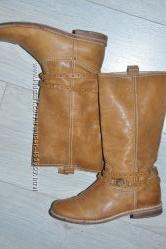 Кожаные сапоги для девочки 30 размер Florens Италия