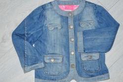 Коттоновая куртка пиджак для девочки 3-4 лет Next