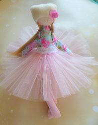 тильды, куклы ручной работы, текстильные куклы, тильда, балерина, мягкие куклы