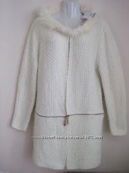 Кардиган шерсть пиджак жакет трансформер новый одежда бренд L, XL