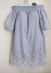 Платье туника вышивка открытые плечи Primark новое L