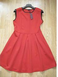 Платье красное A&F новое оригинал XL