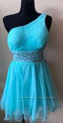 Шикарное вечернее выпускное платье, новое, куплено в США