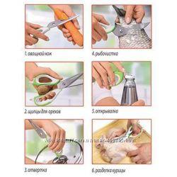 Универсальные ножницы 10в1  чехол на магните