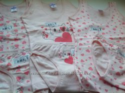 Комплекти білизни для маленьких дівчаток р0 86-92.