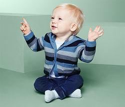 Кардиган для мальчика вязаный с капюшоном TCM TCHIBO