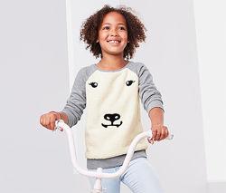 Джемпер для девочки хлопковый с апликацией TCM TCHIBO