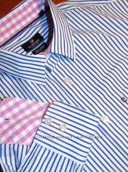 U. S. POLO ASSN  Шикарная брендовая рубашка - L - XL