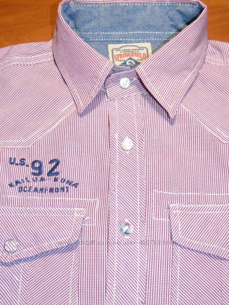 Шикарная рубашка на подростка - лето - ХS