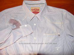 edc  Шикарная брендовая рубашка  - М - L