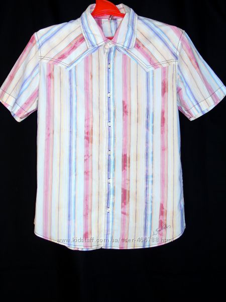 Tom wolfe шикарная рубашка - лето - l - m