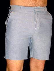 Шикарные классические голубые шорты - S - M