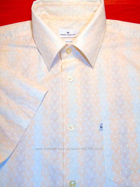 TOM TAILOR  Шикарная брендовая рубашка- Лето  - M - L